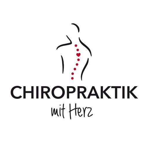 Logo Chiropraktik mit Herz